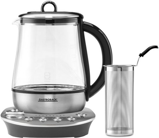 Gastroback Wasserkocher 42434 Design Tea Aroma Plus, 1,5 l, 1400 W