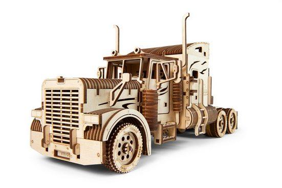UGEARS 3D-Puzzle »UGEARS Holz 3D-Puzzle Modellbausatz HEAVY BOY TRUCK VM-03«, 541 Puzzleteile