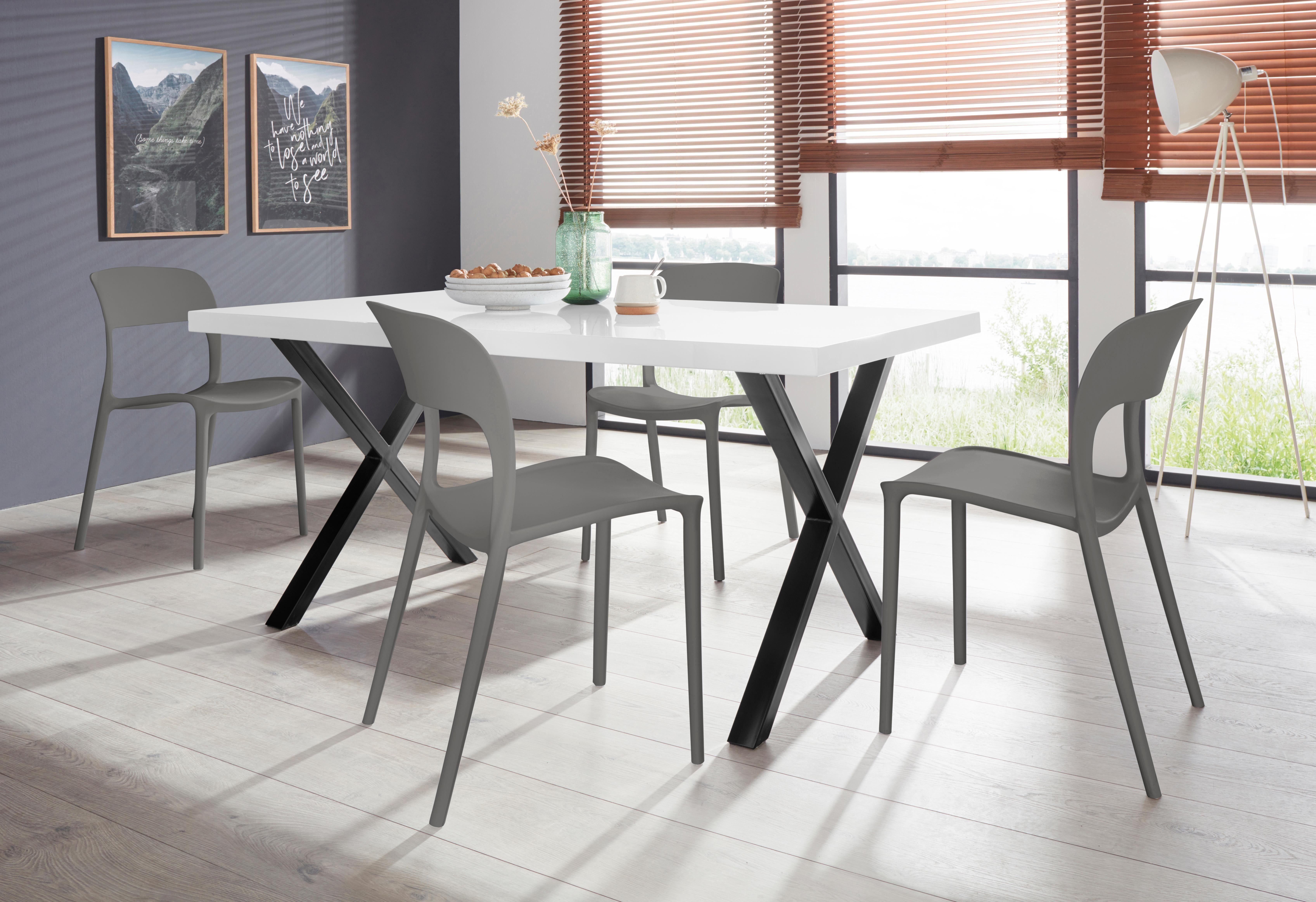 Essgruppe »Ixus/Florian 140« mit 4 Stühlen