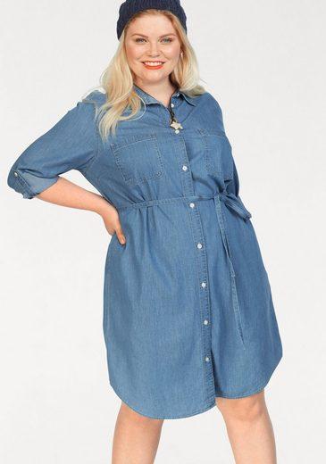 Levi's® Plus Jeanskleid »Plus Size Bebe Dress« Jeanskleid mit separatem Bindeband