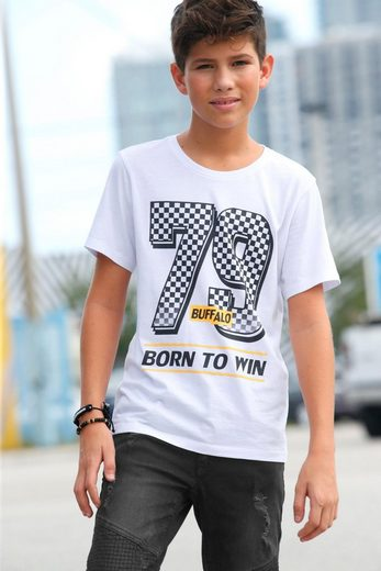 Buffalo T-Shirt »BORN TO WIN«