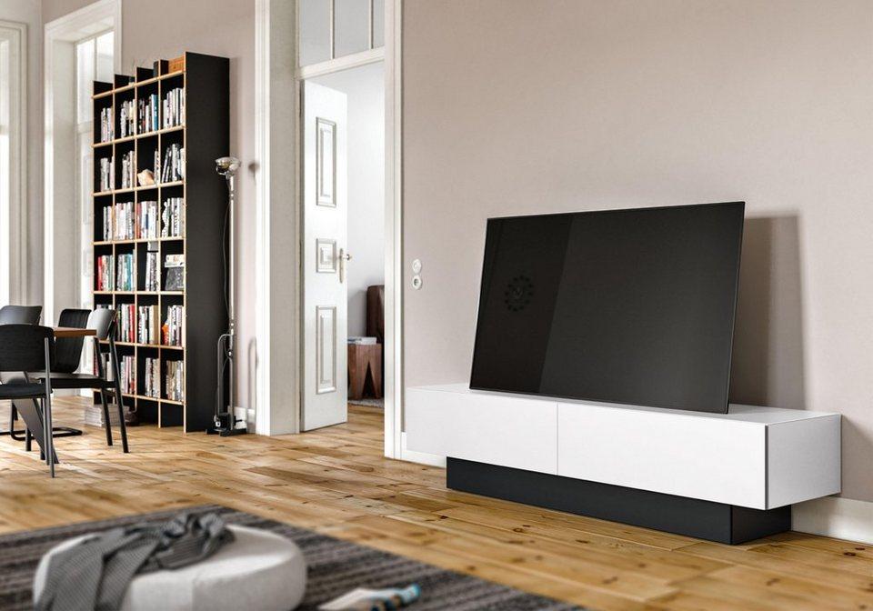 spectral sound lowboard brs mit soundsockel wahlweise mit tv halterung