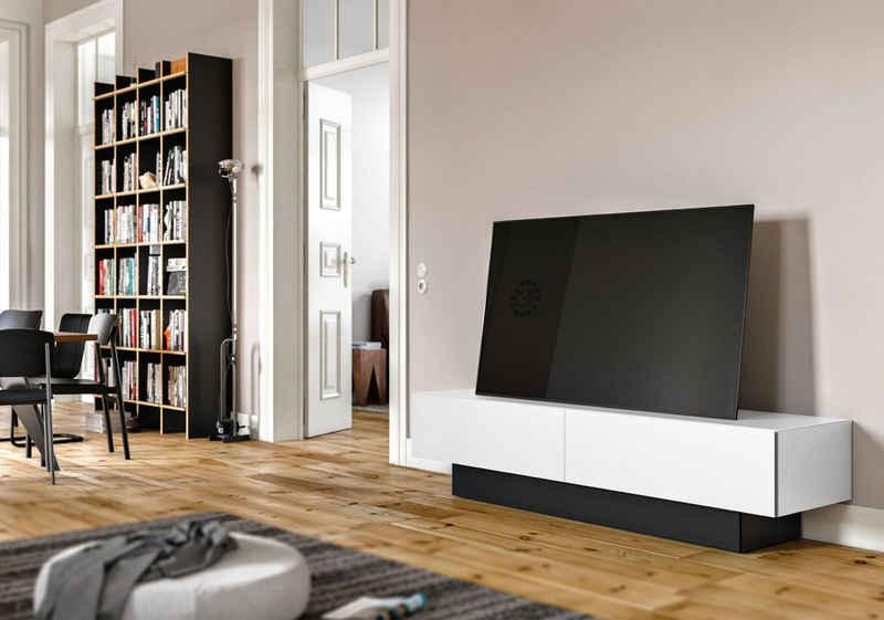 SPECTRAL Lowboard »BRS«, mit Soundsockel, wahlweise mit TV-Halterung, Breite 200 cm