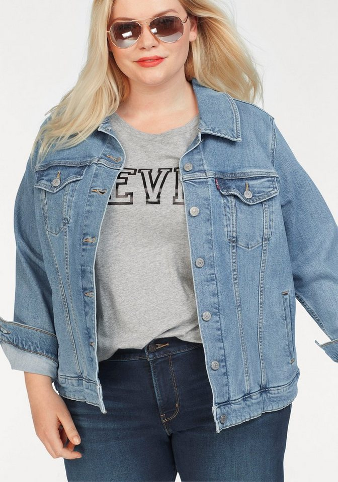 innovative design b07eb 63b0c Levi's® Plus Jeansjacke »Plus Size Trucker« Plus Size Jeans Jacket online  kaufen   OTTO