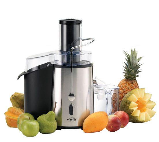 Montiss Entsafter, Saftpresse für Obst und Gemüse, 850 W »KJE5737M«