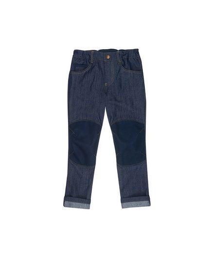 Finkid 5-Pocket-Jeans mit coolem Kniebesatz »Kuusi Denim«