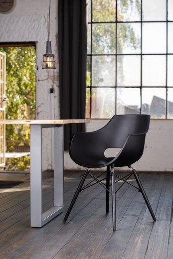 KAWOLA Esszimmerstuhl Stuhl Kunststoff »ZAJA«