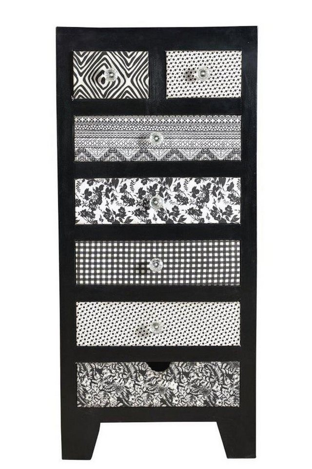 kawola kommode mangoholz schwarz wei kala otto. Black Bedroom Furniture Sets. Home Design Ideas