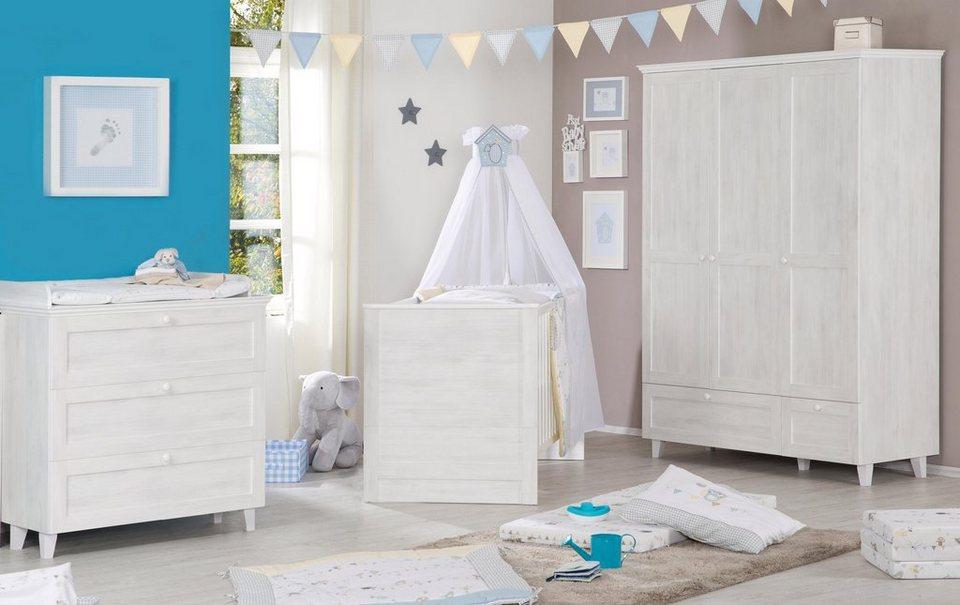 Roba babyzimmer set 3 tlg. kinderzimmer »sarah« online kaufen otto