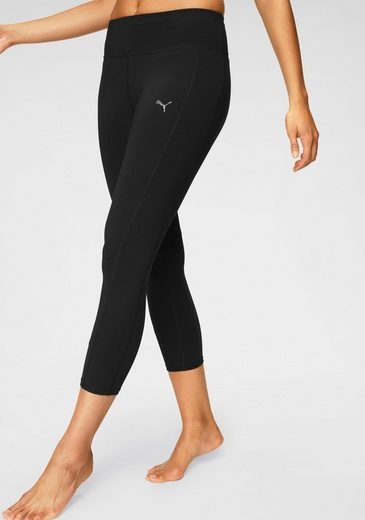 PUMA Funktionstights »ALWAYS ON SOLID 3/4 TIGHT« mit Bundtasche