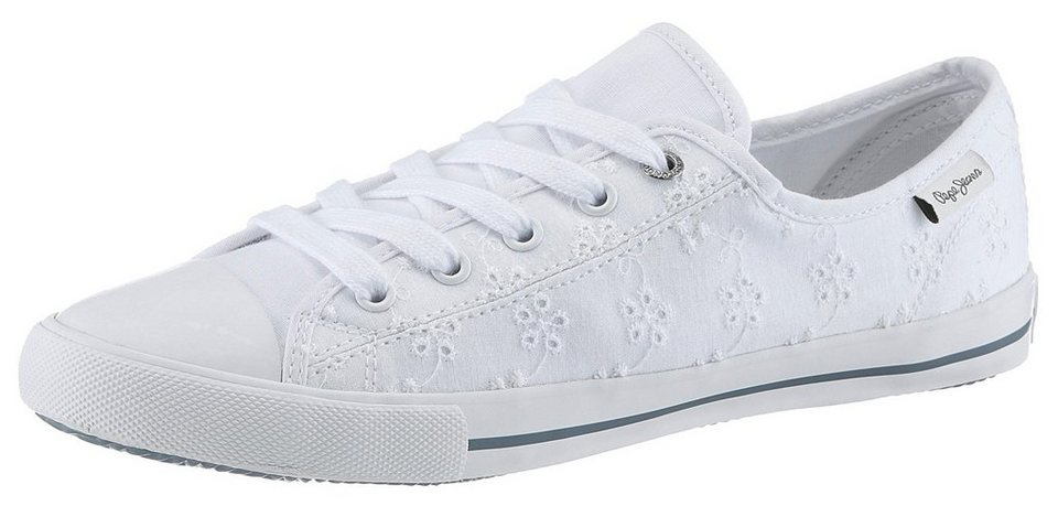 sports shoes 4a680 99424 Pepe Jeans »Gery Angy« Sneaker mit dezenter Stickerei online kaufen | OTTO
