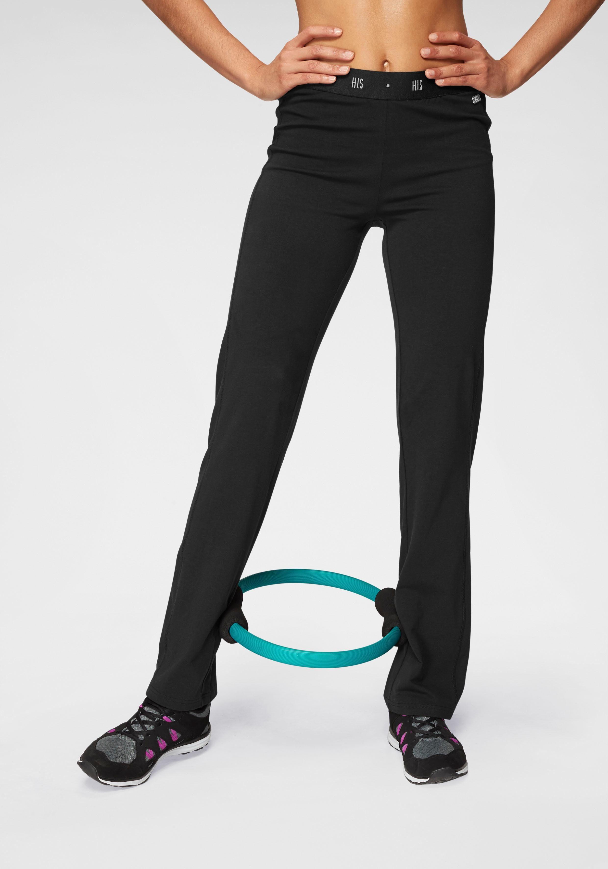 H.I.S Jazzpants, Elastischer Gummibund mit eingewebtem Logo
