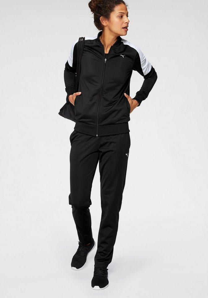 PUMA Trainingsanzug »Clean Tricot Suit Op«   Sportbekleidung > Sportanzüge > Trainingsanzüge   Schwarz   PUMA