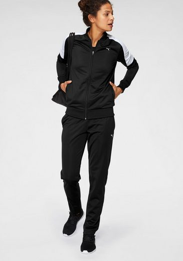 PUMA Trainingsanzug »Clean Tricot Suit Op« (Set, 2 tlg)