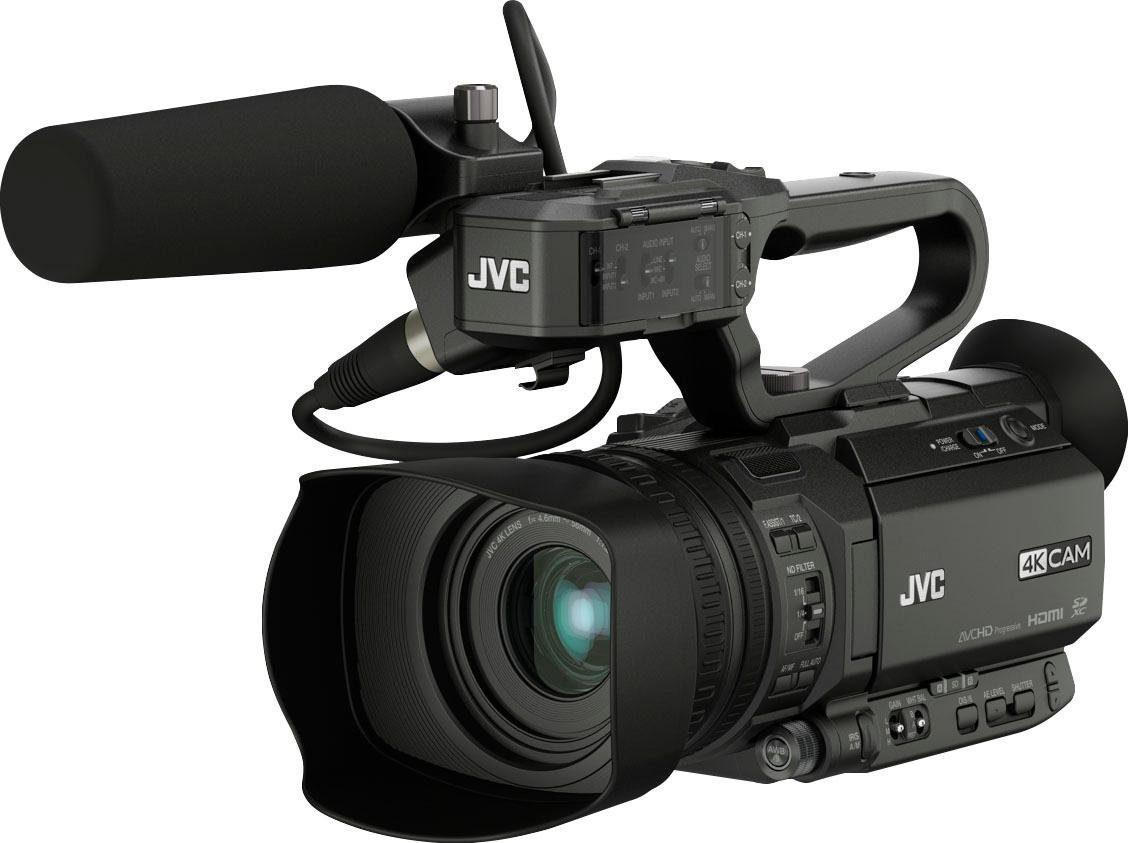 JVC »GY-HM180E« Camcorder (4K Ultra HD, 12x opt. Zoom)