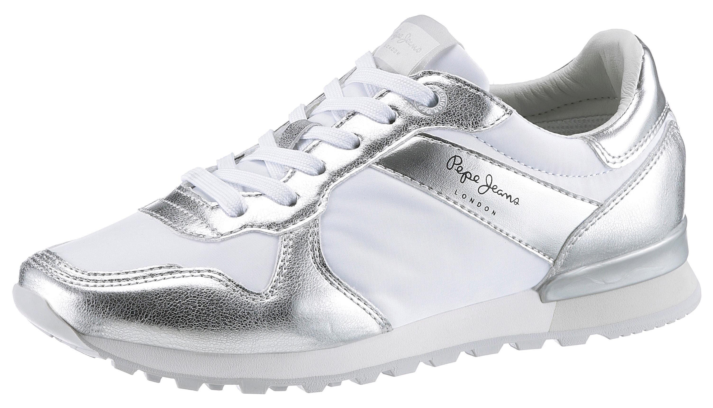 W Im Jeans Greek« Online KaufenOtto Sneaker Metallic Look Pepe »verona vP0mnw8yON
