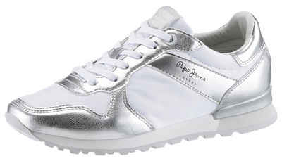 42b5b2dd Pepe Jeans »Verona W Greek« Sneaker im Metallic-Look