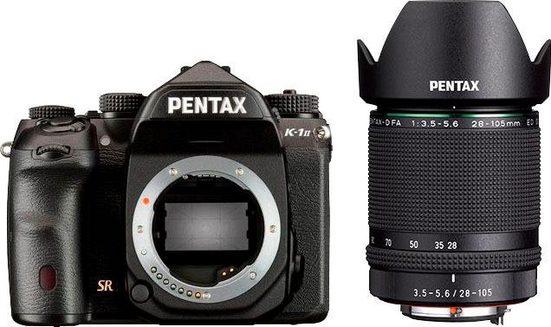 PENTAX Premium »K-1 II« Spiegelreflexkamera (HD PENTAX-D FA 28-105mm F3.5-5.6 ED DC WR, 36,4 MP, WLAN (Wi-Fi), inkl. D-FA 28-105)