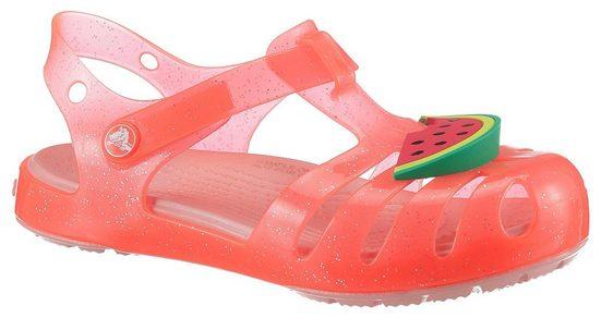 Crocs »Crocs Isabella Charm Sandal K« Sandale mit farbenfrohem Melonen Motiv