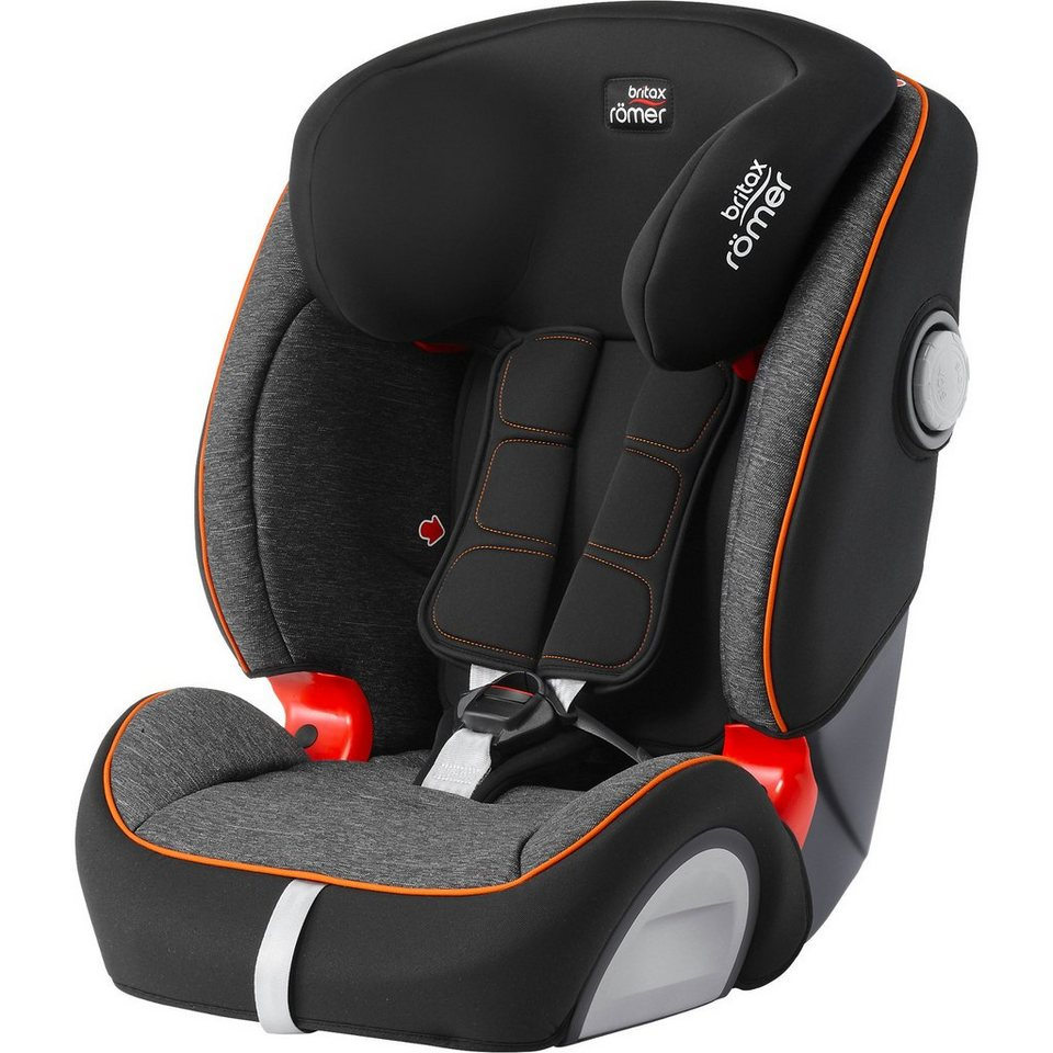 britax r mer auto kindersitz evolva 1 2 3 sl sict black. Black Bedroom Furniture Sets. Home Design Ideas