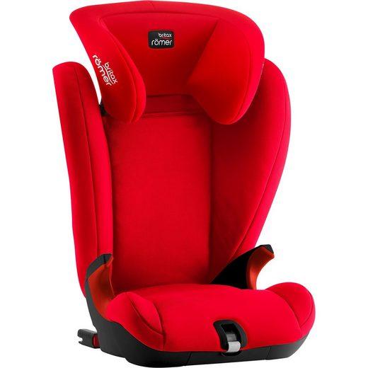 BRITAX RÖMER Auto-Kindersitz Kidfix SL, Black Series, Fire Red