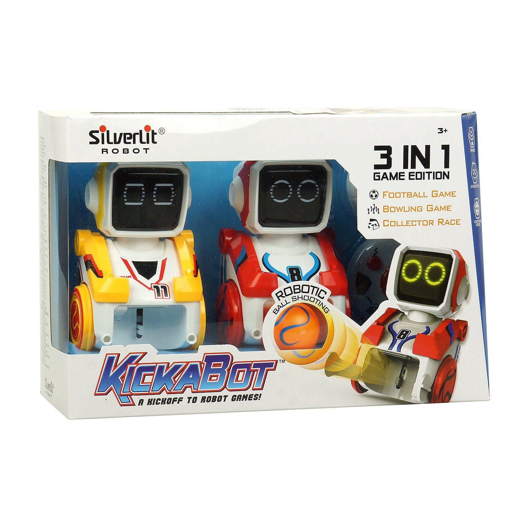 Silverlit Kickabot Twin Pack