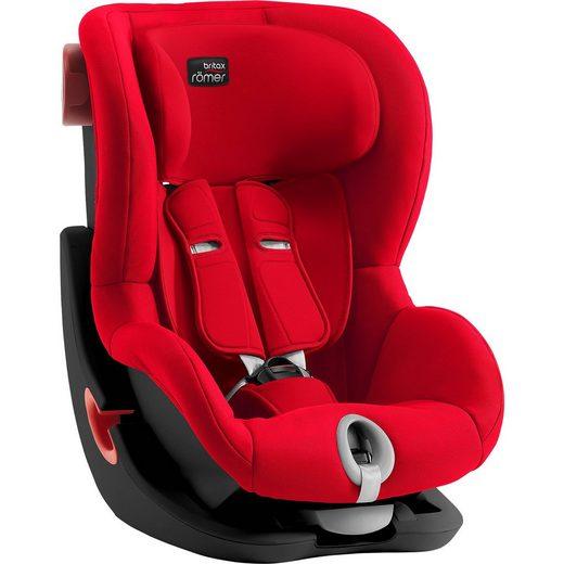 BRITAX RÖMER Auto-Kindersitz King II, Black Series, Fire Red