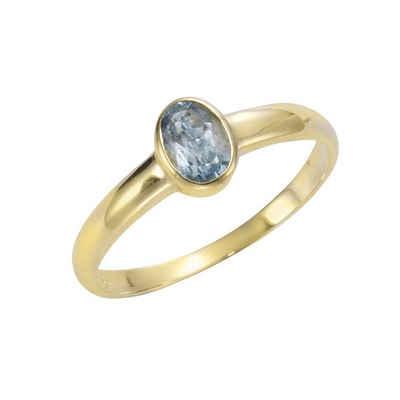 Vivance Ring »333/- Gelbgold mit Blautopas (beh)«