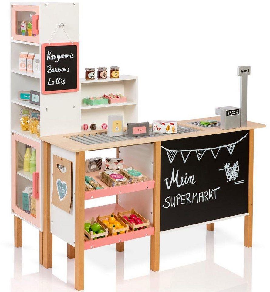 MUSTERKIND® Kaufladen Supermarkt,  Alnus, weiß/apricot  online kaufen