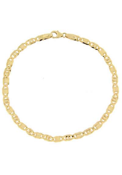 722bf8b949 Firetti Goldkette »in Tigeraugenkettengliederung, diamantiert, konkav«