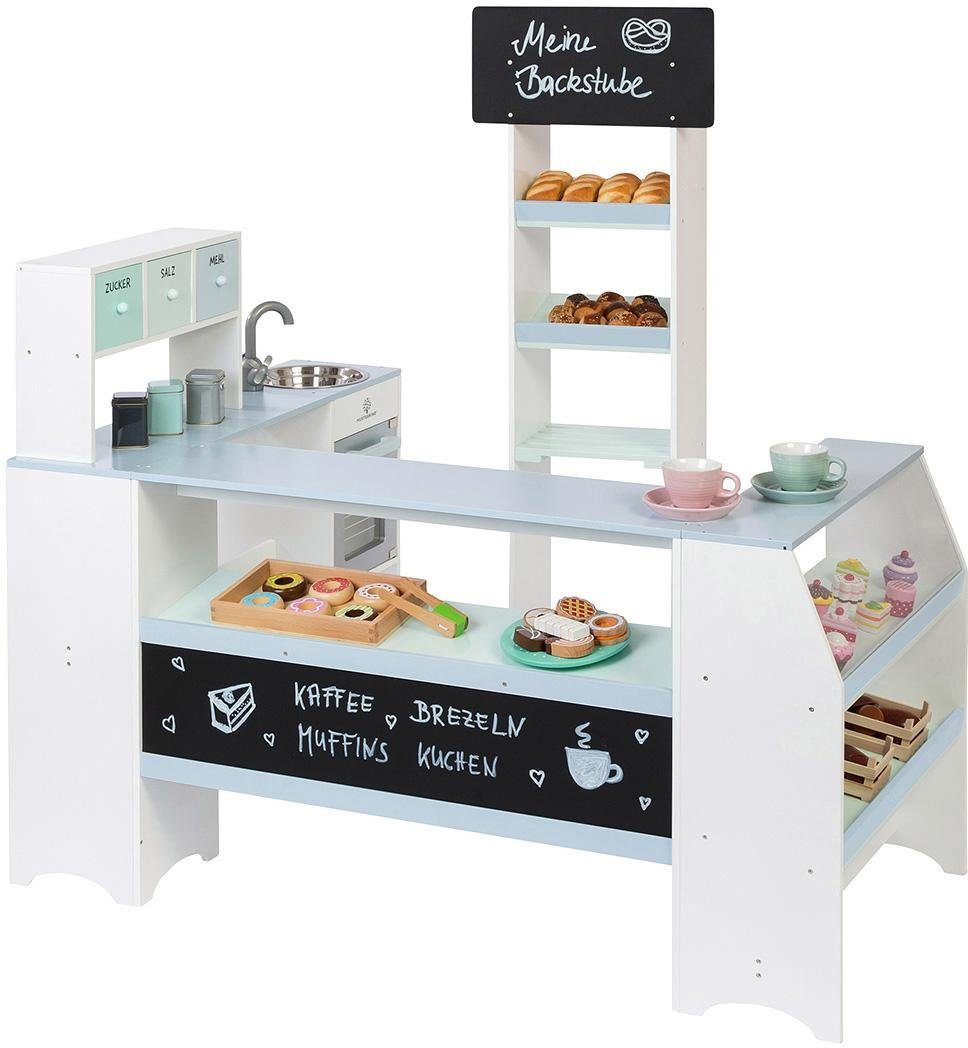 MUSTERKIND® Kaufladen Bäcker & Konditor, »Grano, weiß/graublau«