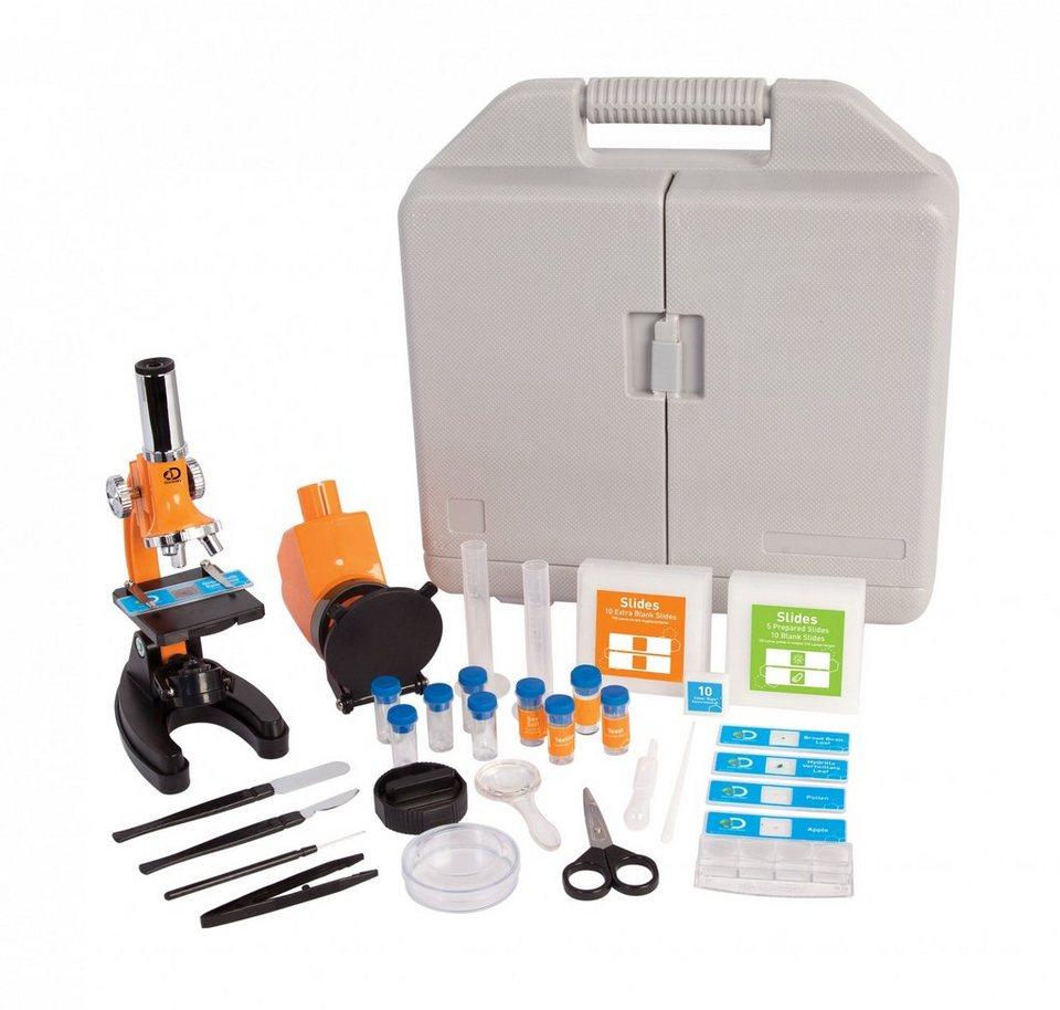 Discovery Adventures Mikroskop  Einsteiger Set mit bis zu 1200x Vergrößerung  online kaufen