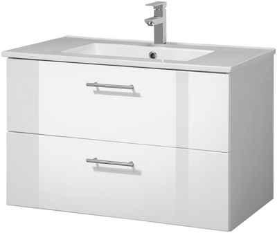 Waschtisch Online Kaufen Waschbecken Mit Unterschrank Otto