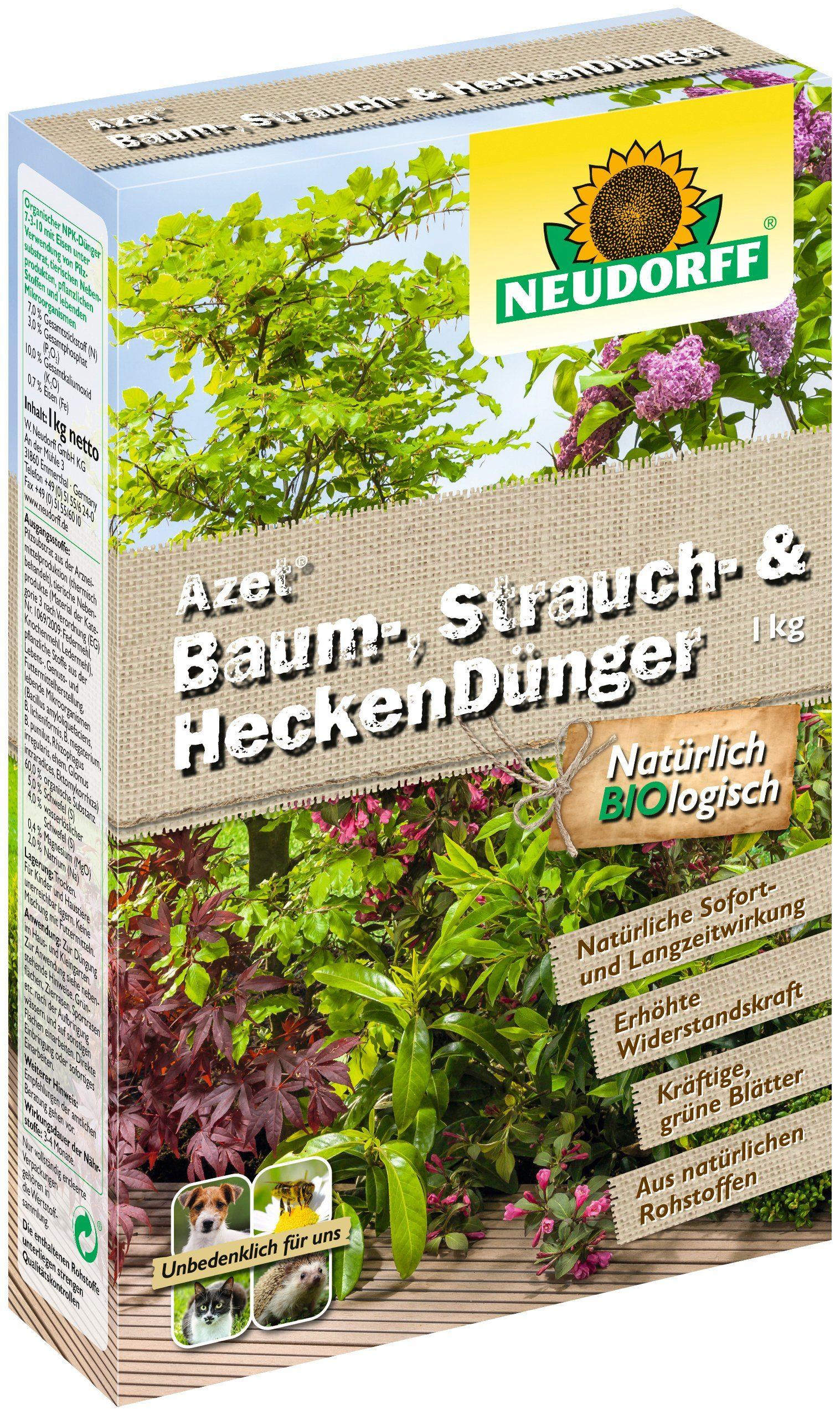 NEUDORFF Spezialdünger »Azet Baum, Strauch & Hecke«, 1 kg