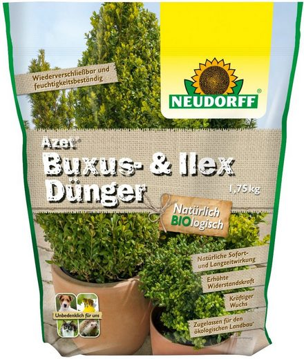 NEUDORFF Buchsbaumdünger »Azet Buxus & Ilex«, 1,75 kg