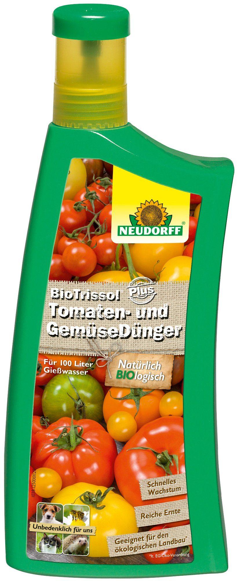 NEUDORFF Flüssigdünger »BioTrissol Plus Tomaten & Gemüse«, 1 l
