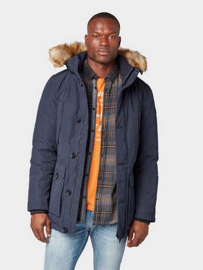 91d762144392 Tom Tailor Winterjacke »Gefütterte Winterjacke mit abnehmbarer Kapuze«