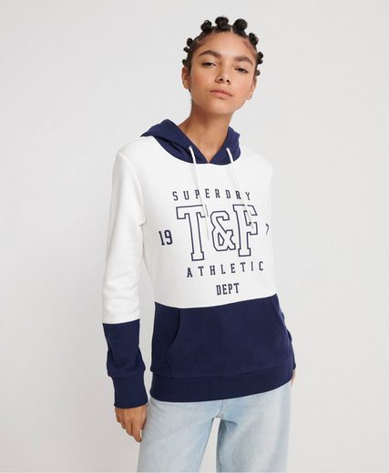 Superdry Kapuzensweatshirt »TRACK & FIELD COL BLOCK HOOD« im Colorblocking