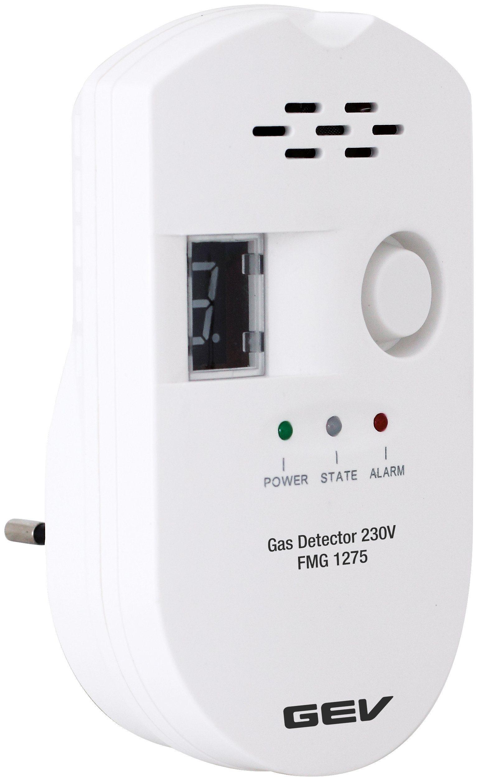 GEV Gasmelder »FMG 1275«, detektiert zuverlässig Propan, Methan und Butan