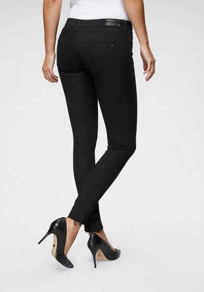 ebf3054c402dcd Replay Skinny-fit-Jeans »LUZ« mit Used-Kante am Saum