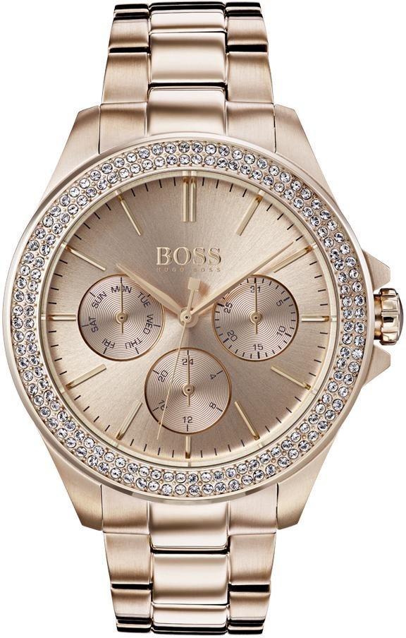 Boss Multifunktionsuhr »PREMIERE, 1502443« | Uhren > Multifunktionsuhren | Goldfarben | Boss
