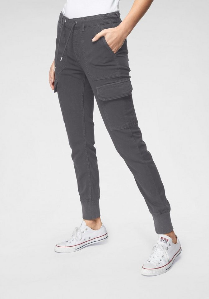 pepe jeans -  Jogger Pants »CRUSADE« im Cargo-Design mit Used-Waschung