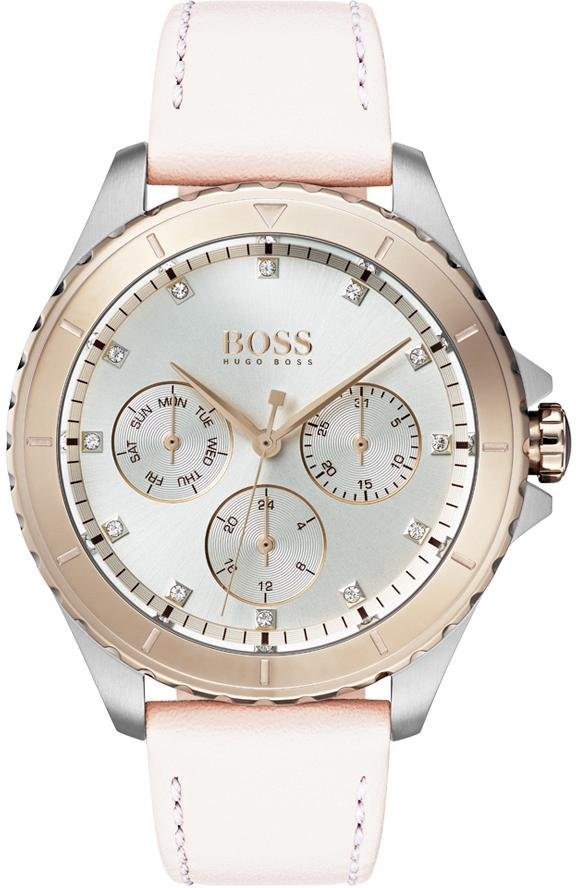 Boss Multifunktionsuhr »PREMIERE, 1502448« | Uhren > Multifunktionsuhren | Rosa | Boss