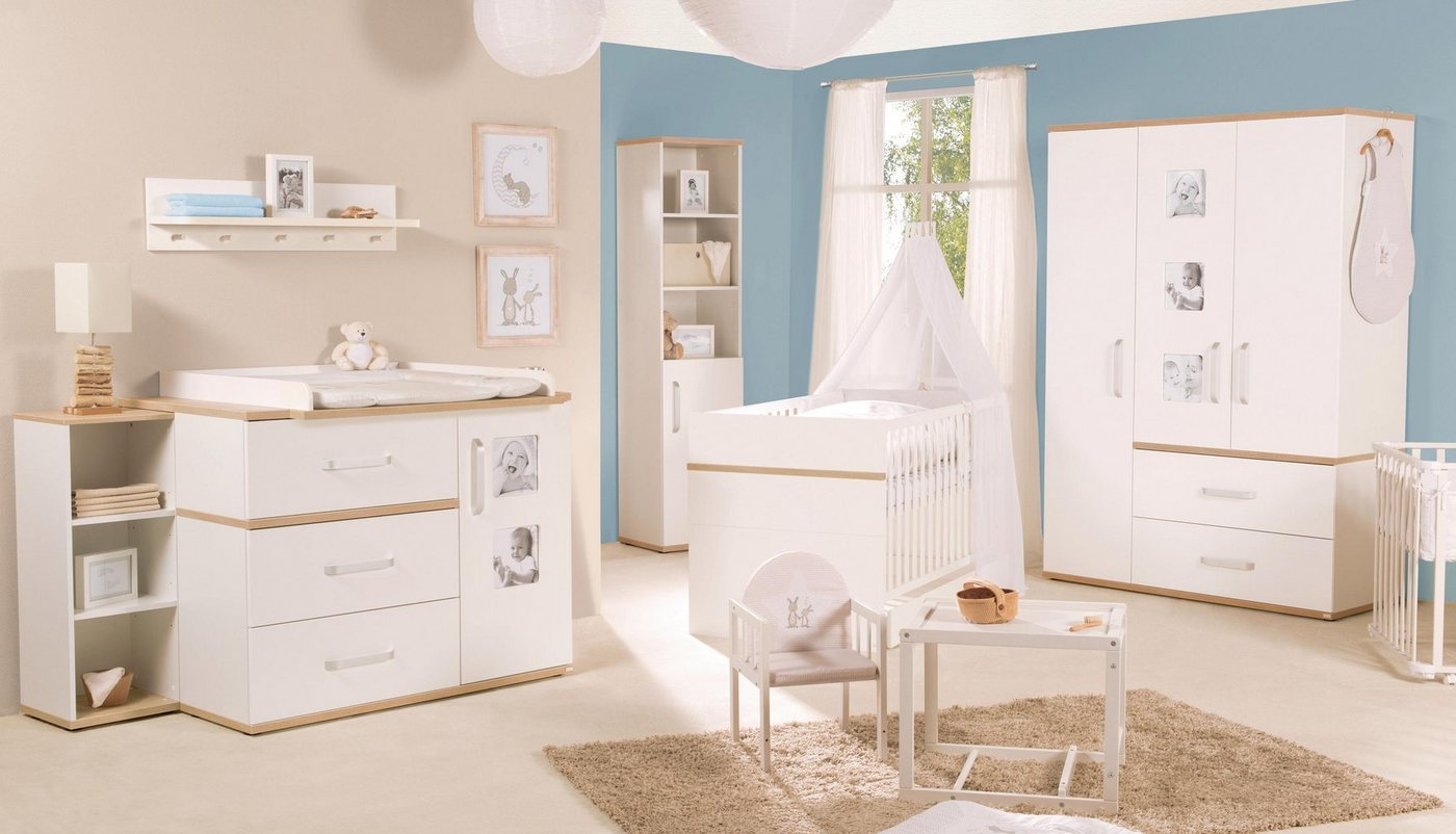 Roba Kinderzimmer Set (3-tlg.), »Pia breit«   Kinderzimmer > Komplett-Kinderzimmer   Weiß   Roba®