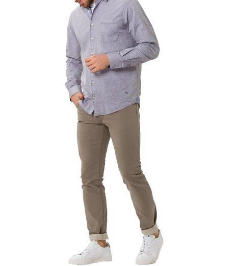 Brax Stretch-Hose »BRAX Chuck Stretch-Hose moderne Herren Freizeit-Hose Stoff-Hose Taupe«