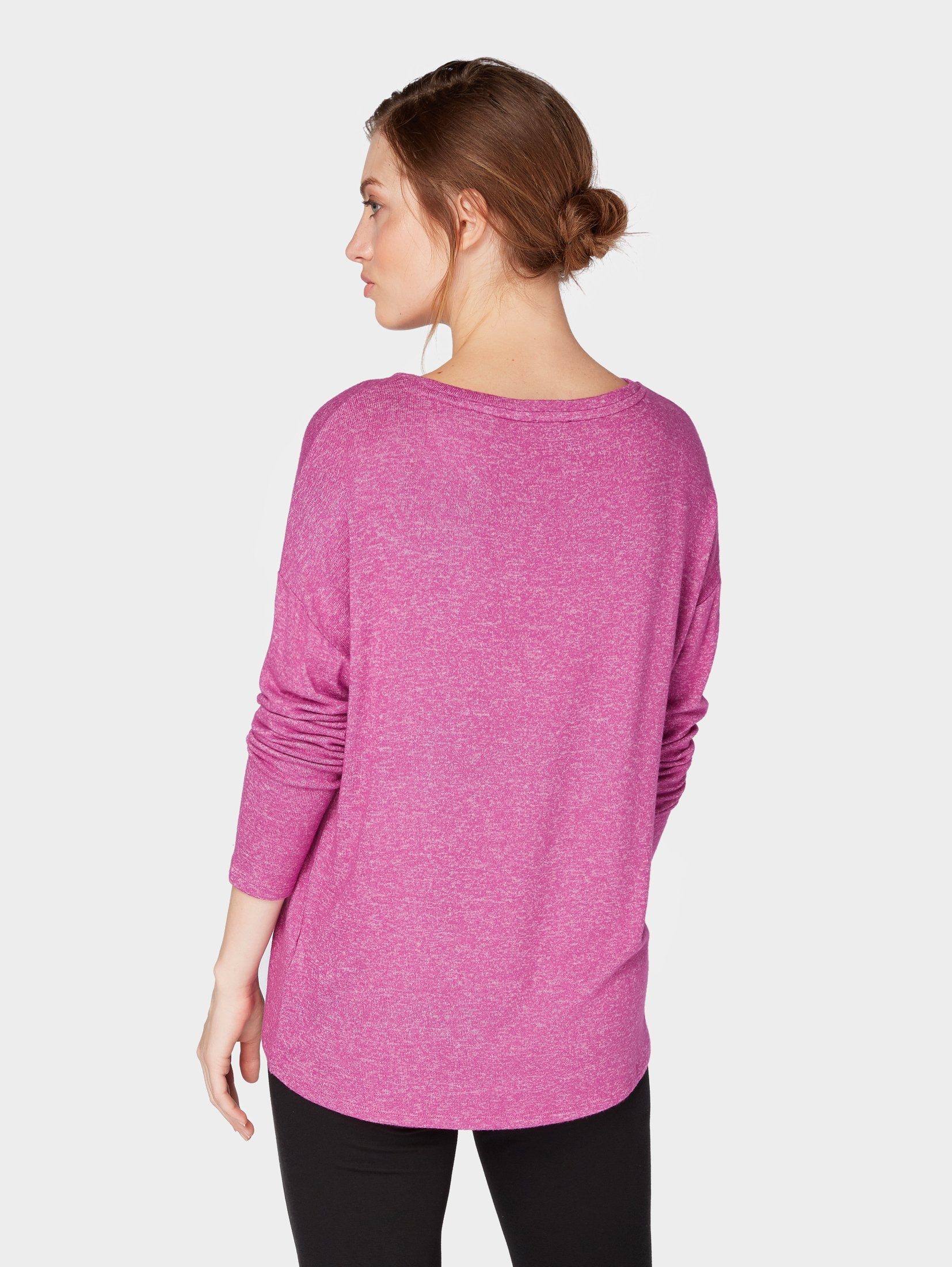 Langarmshirt »langarmshirt Kaufen Online Tom Blumen Tailor Mit print« QderBoCxW