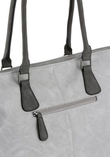 Shopper Modischen Details Glitzer Mit Rieker FqdC7ww