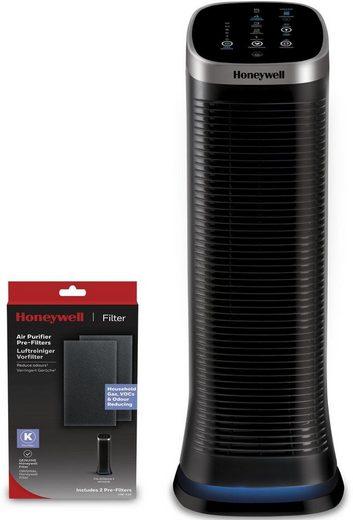 Honeywell Luftreiniger AirGenius 5 HFD323E2, Patentierte & waschbare Filter