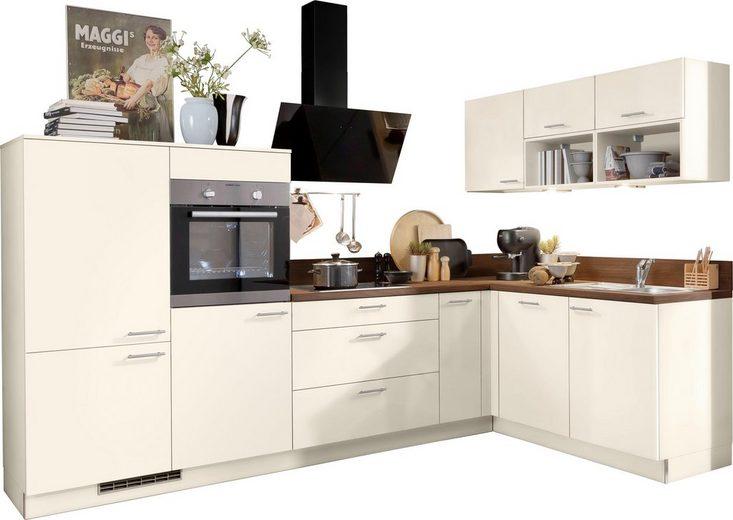 Express Küchen Winkelküche »Scafa«, ohne E-Geräte, Stellbreite 305 x 185 cm