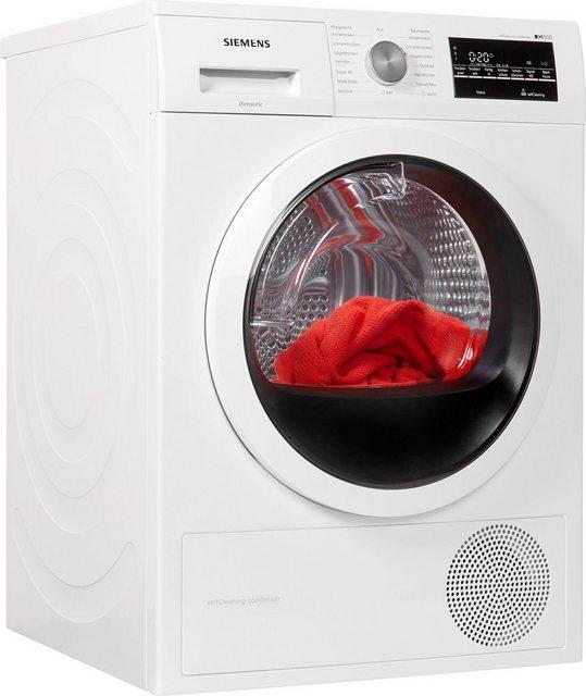 SIEMENS Wärmepumpentrockner iQ500 WT45W462, 7 kg | Bad > Waschmaschinen und Trockner | Weiß | Siemens